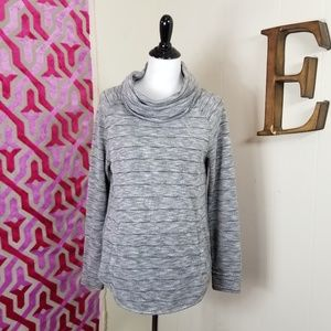 Lou & Grey Size Medium Turtleneck pull over knit